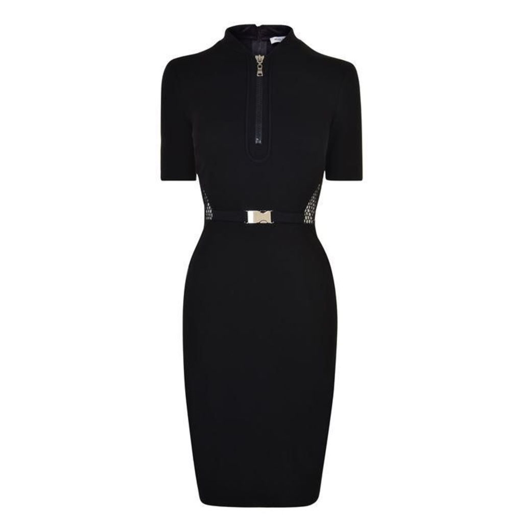 MUGLER Milano Mesh Dress