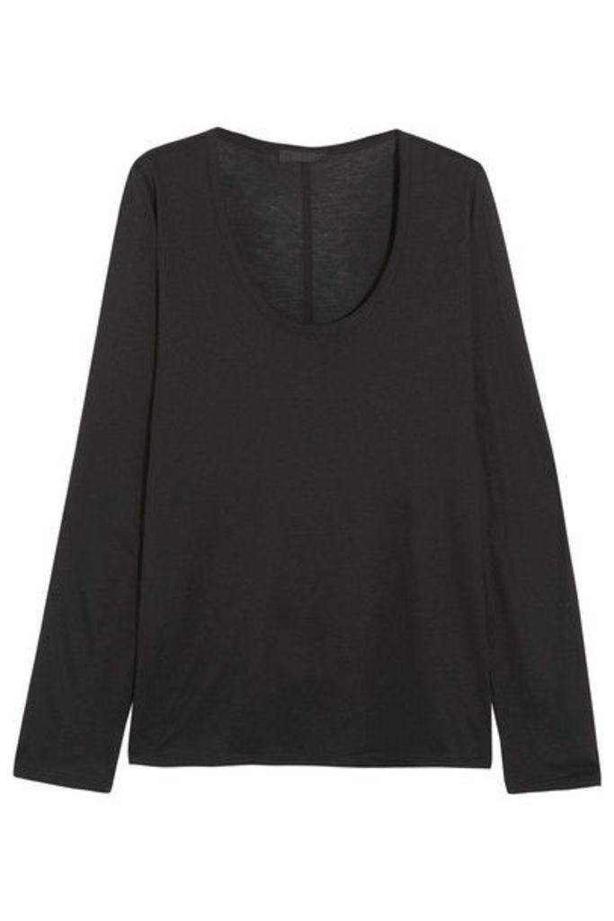 The Row - Baxerton Jersey Top - Black