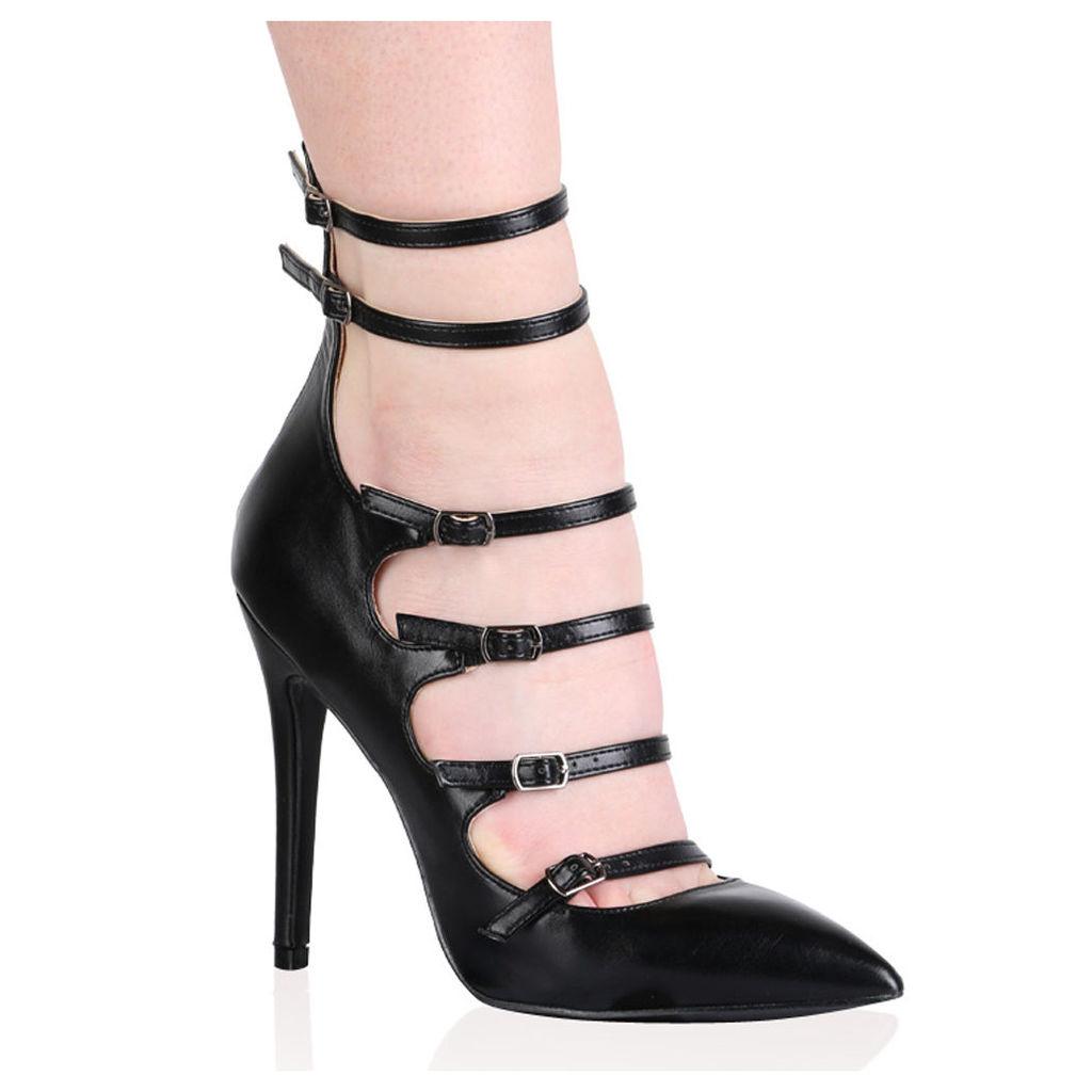 Monique Stiletto Heels, Black