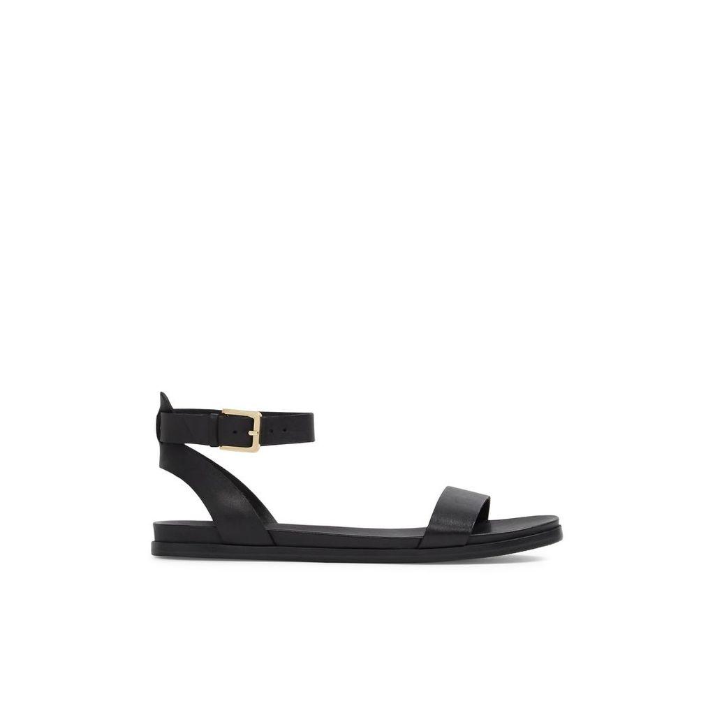 Aldo Gwenna flat sandals, Black