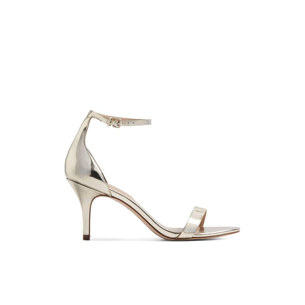Aldo Zenavia stiletto sandals, Gold