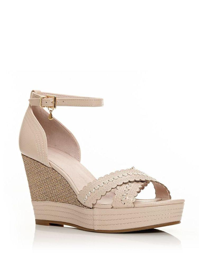 Moda in Pelle Roxas sandals, Beige