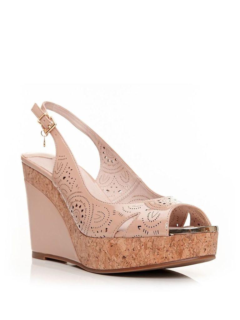 Moda in Pelle Rivas sandals, Beige