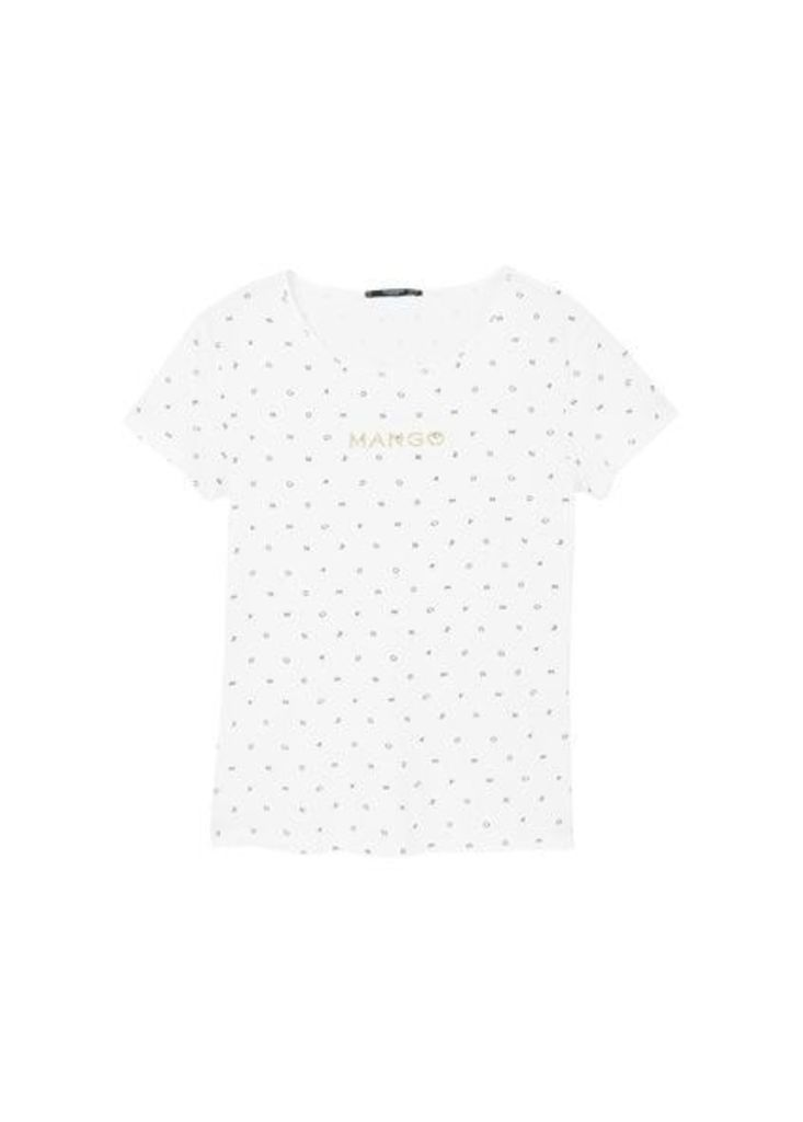 Logo letters t-shirt