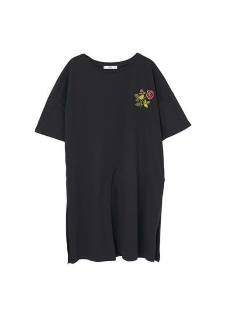 Vent embroidered t-shirt