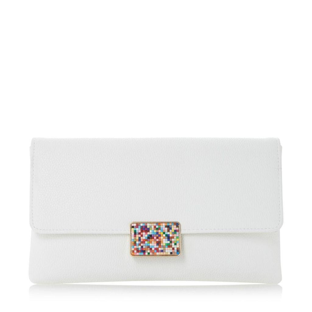 Blakley Beaded Clasp Detail Clutch Bag