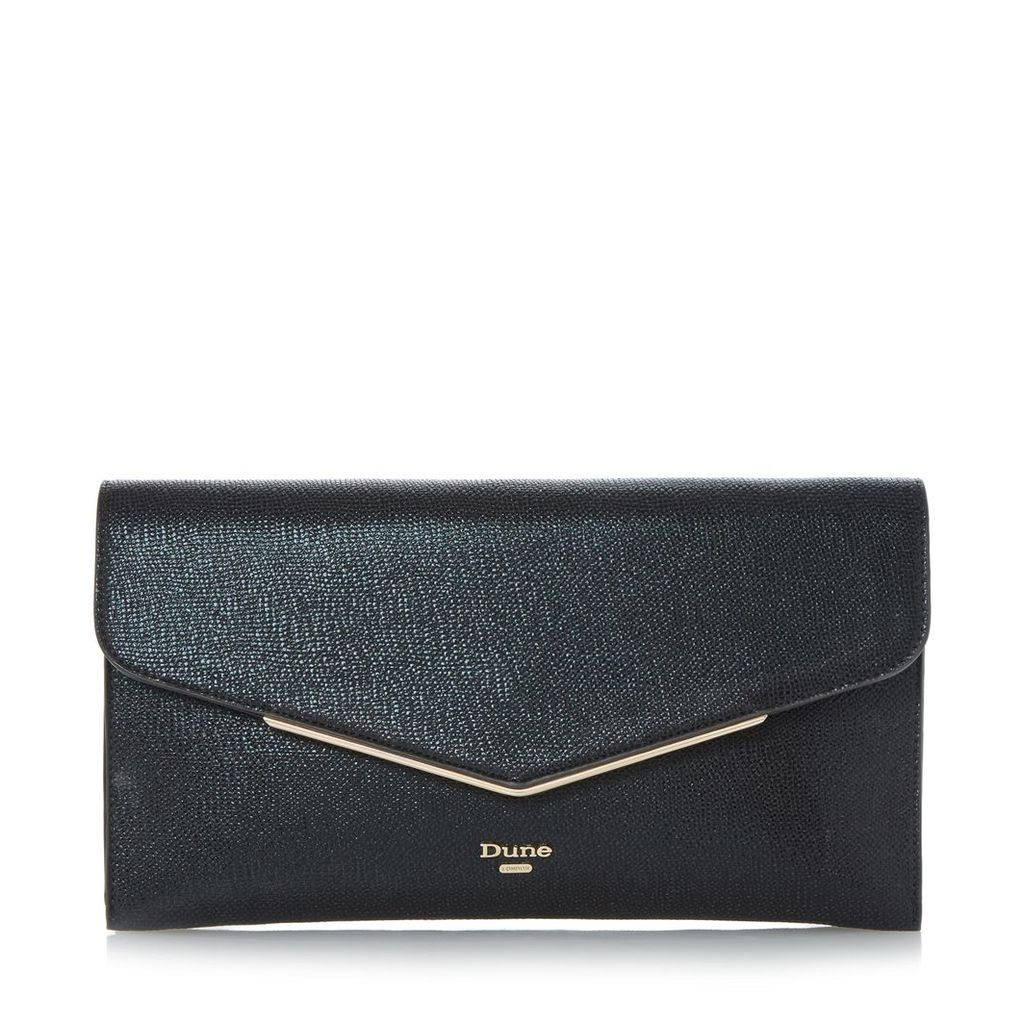 Epeonnie Metal Insert Envelope Clutch Bag