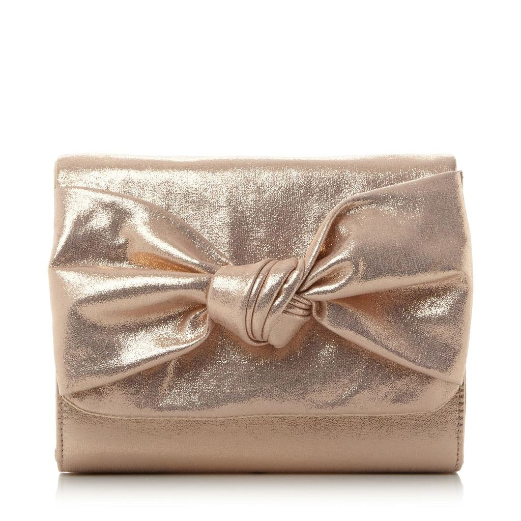 Bernette Knot Detail Clutch Bag