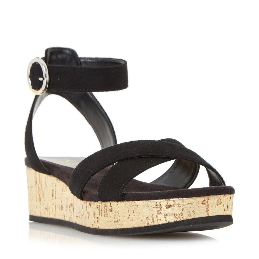 Kalipo Cross Strap Flatform Sandal