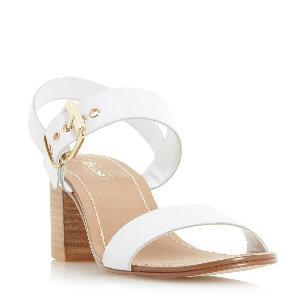 Jany Block Heel Buckle Sandal