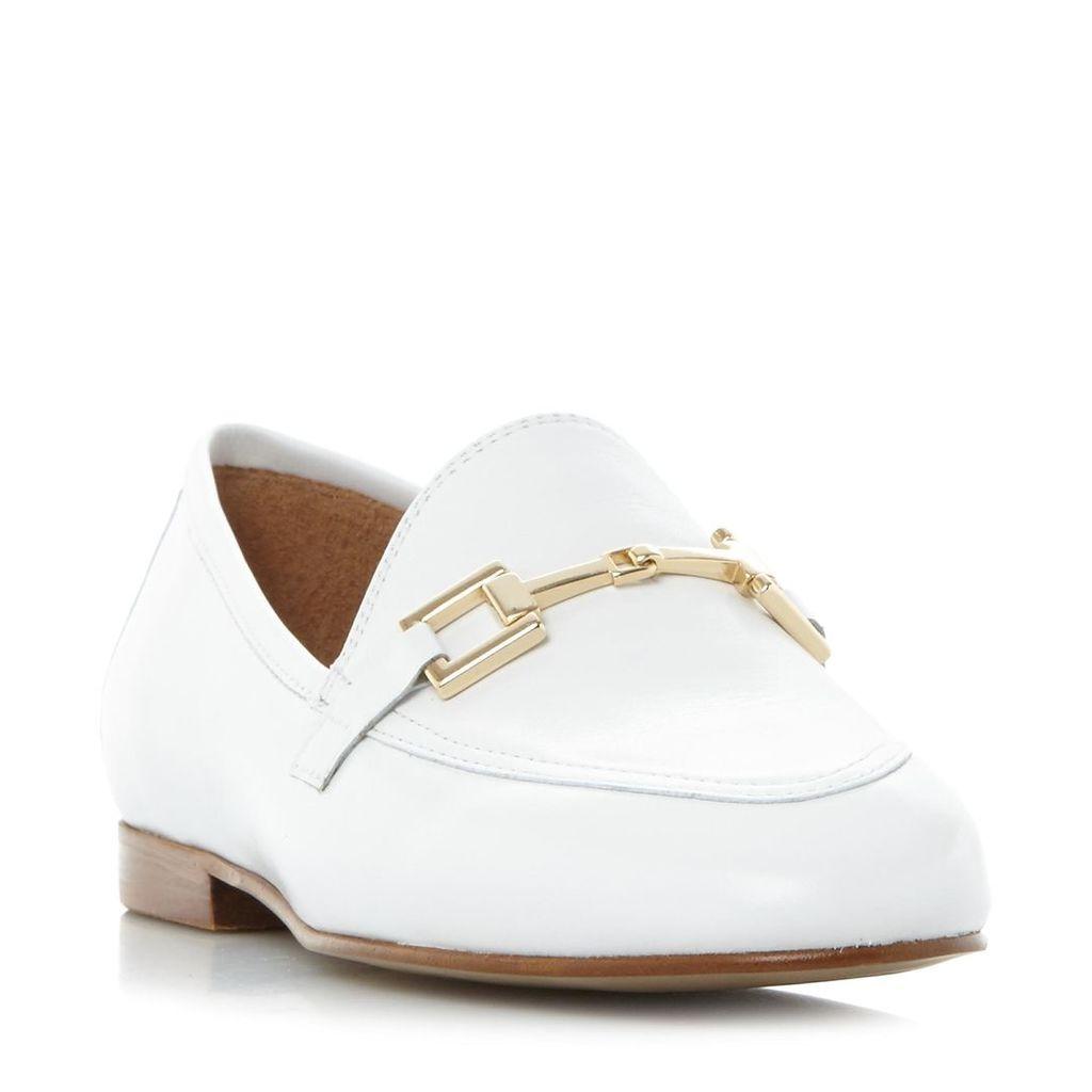 Guru Metal Saddle Trim Loafer Shoe