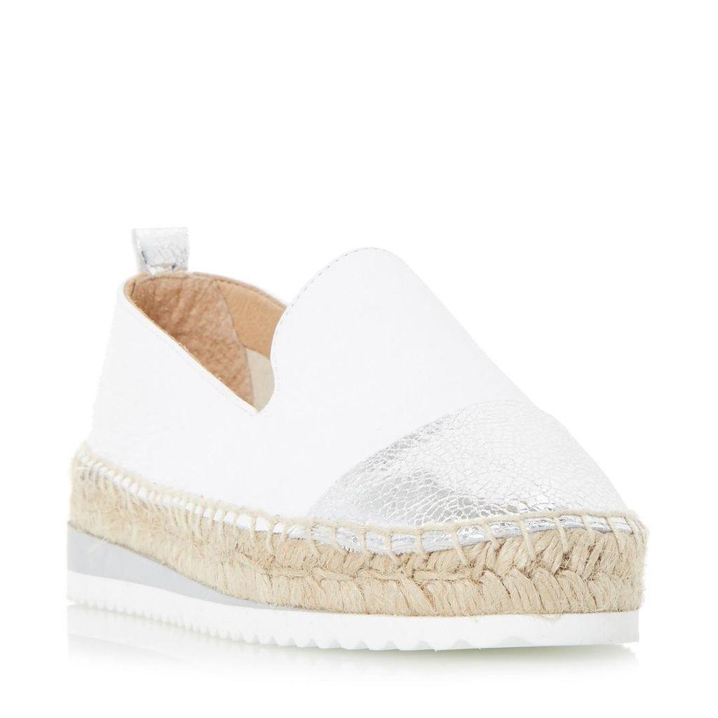 Guest Slipper Cut Toecap Espadrille Shoe