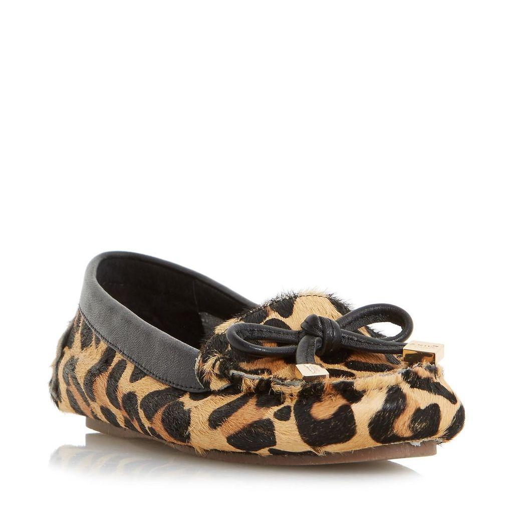 Genovia Bow Detail Loafer Shoe