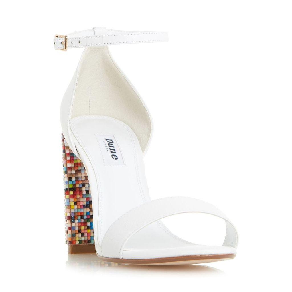 Millionss Beaded High Heel Sandal