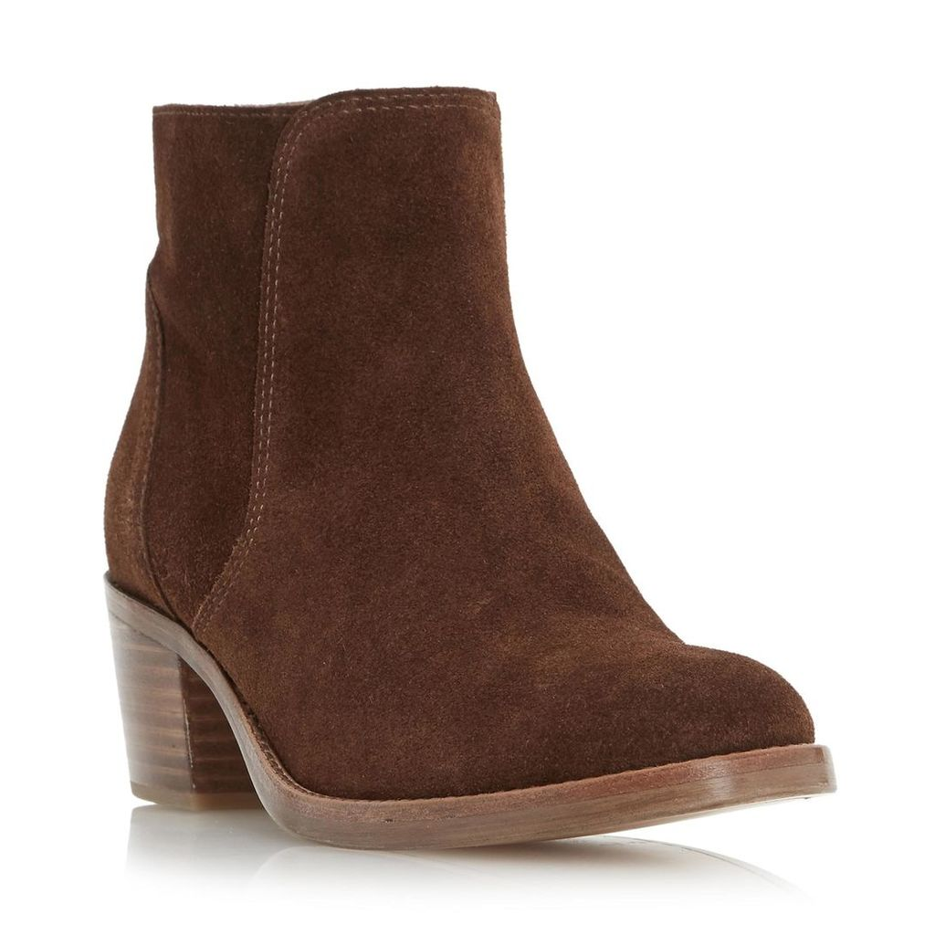 Pearson Stacked Block Heel Ankle Boot