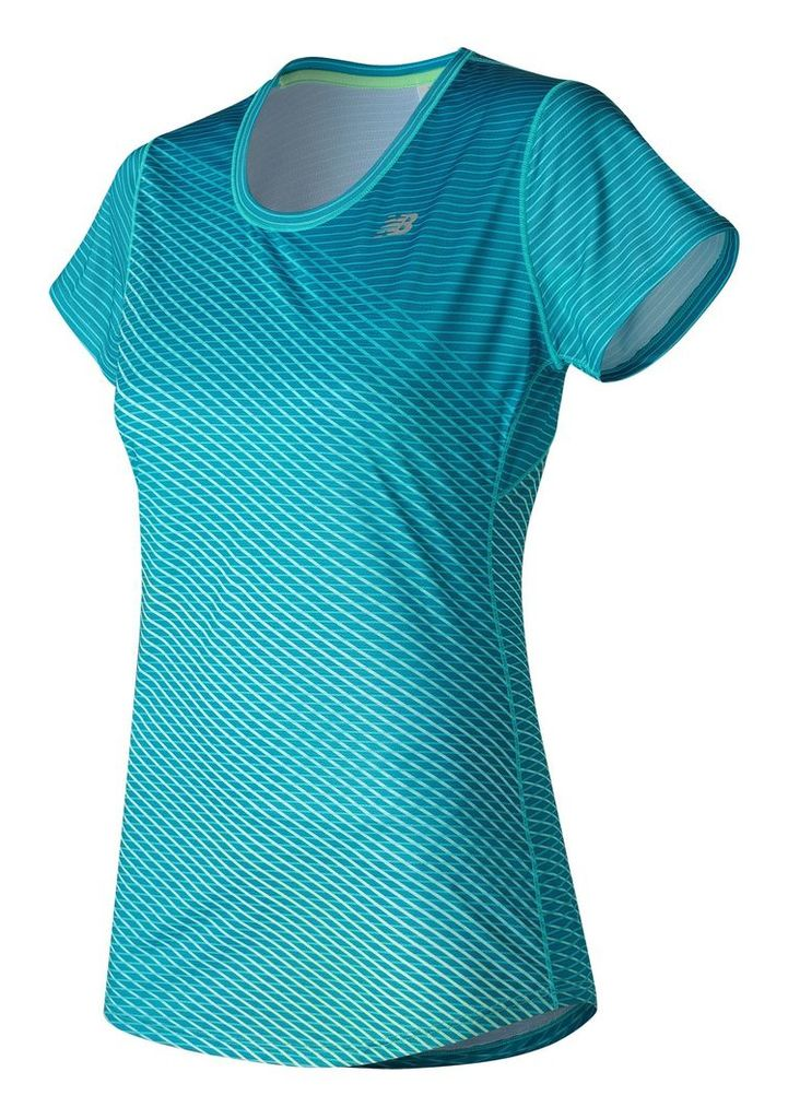 New Balance Accelerate Short Sleeve Graphic Women's Performance WT53162DZC