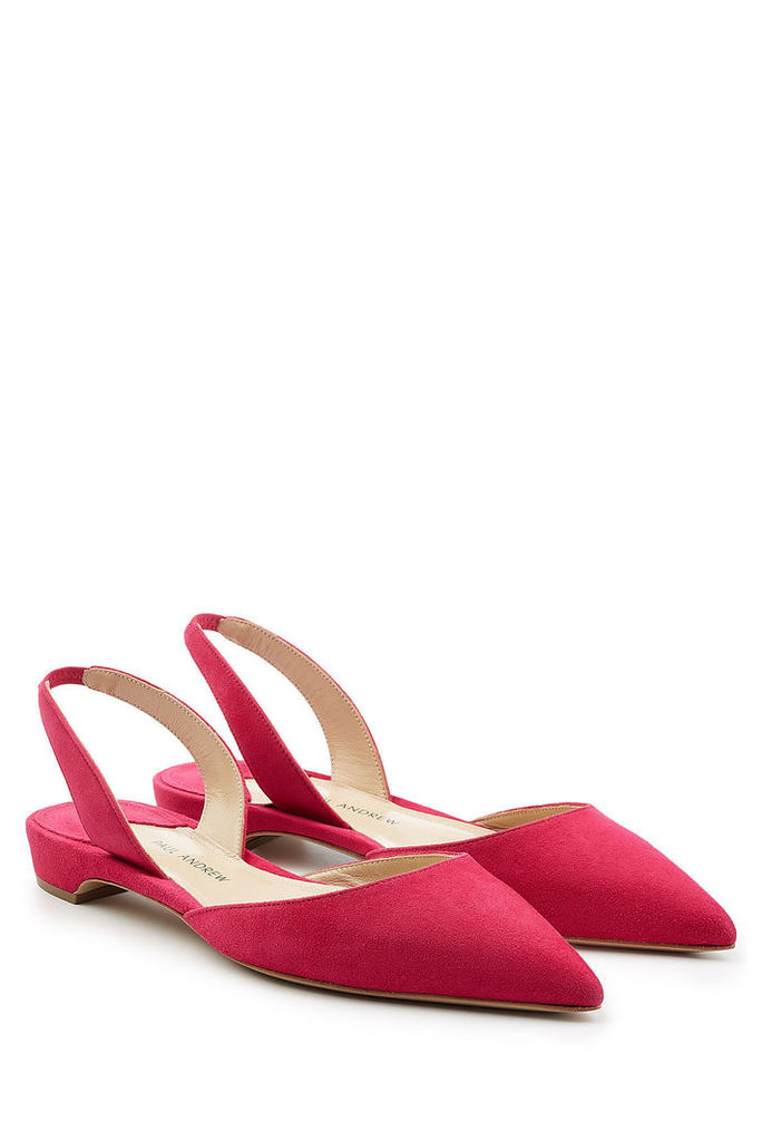 Paul Andrew Suede Slingback Flats