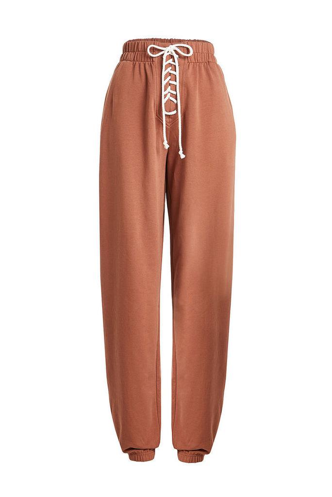 FENTYxPuma by Rihanna Lace-Up Cotton Sweatpants
