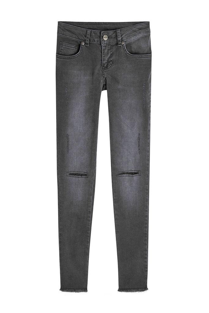 Anine Bing Distressed Skinny Jeans