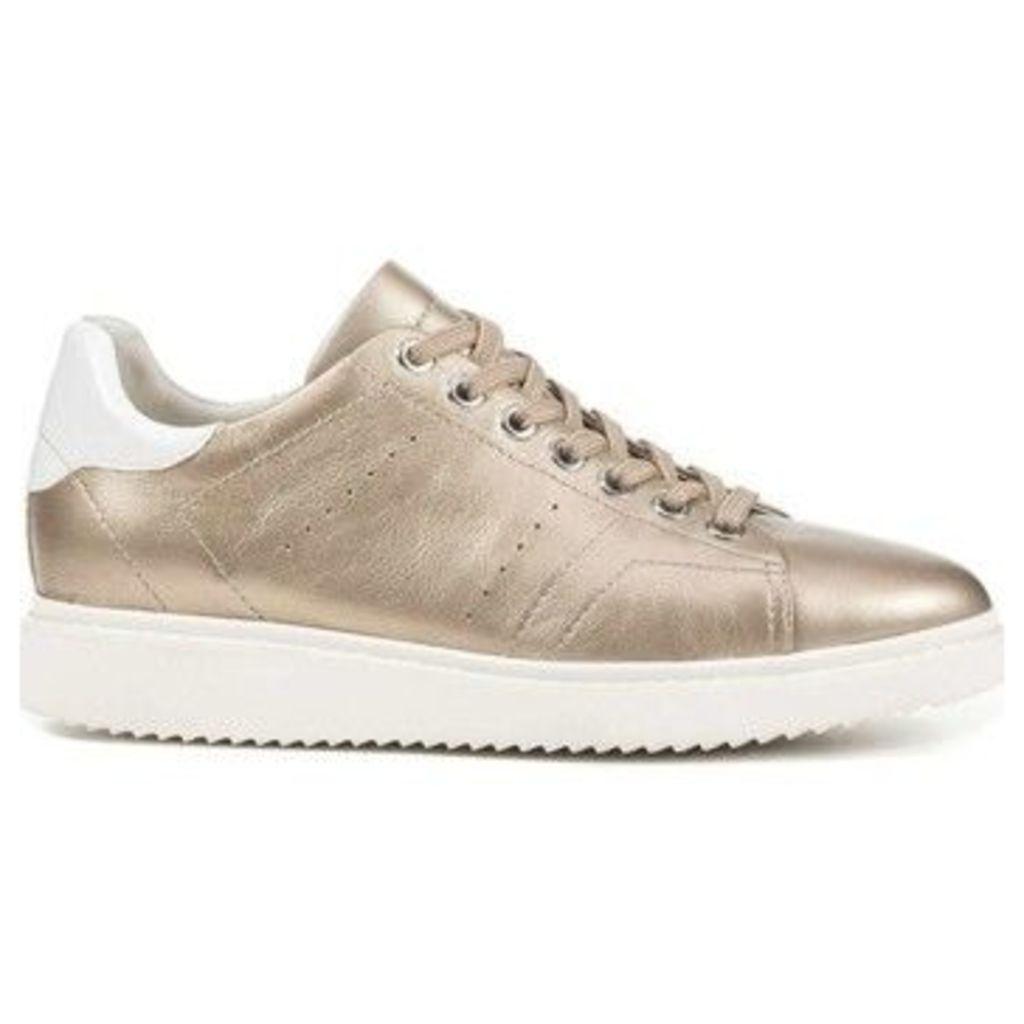 Geox  D724BA 000BV Sneakers Women  women's Walking Boots in gold