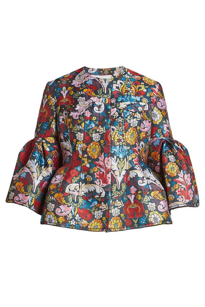 Marques\' Almeida Printed Jacquard Jacket
