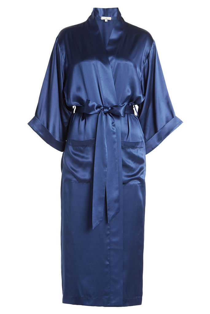 Natasha Zinko Silk Coat with Belt