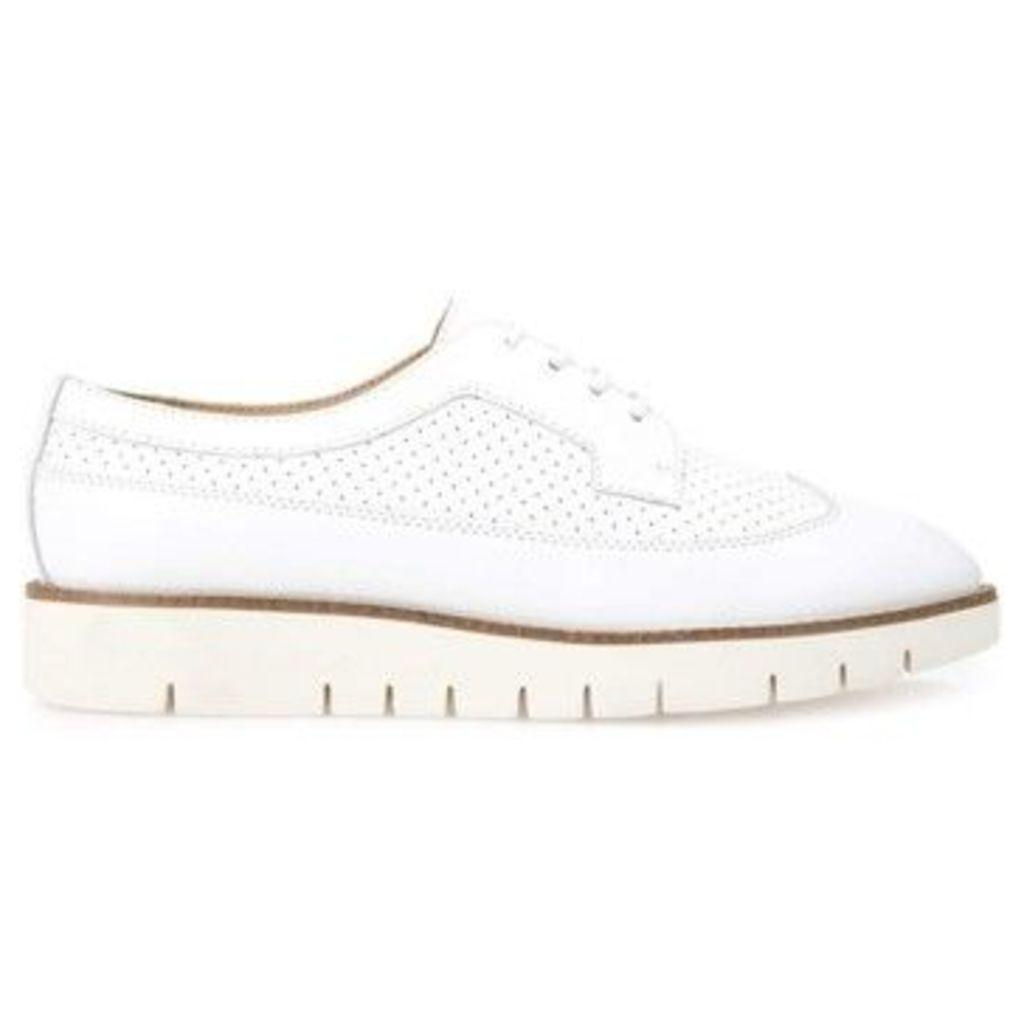 Geox  D720BA 00043 Lace-up heels Women  women's Walking Boots in white