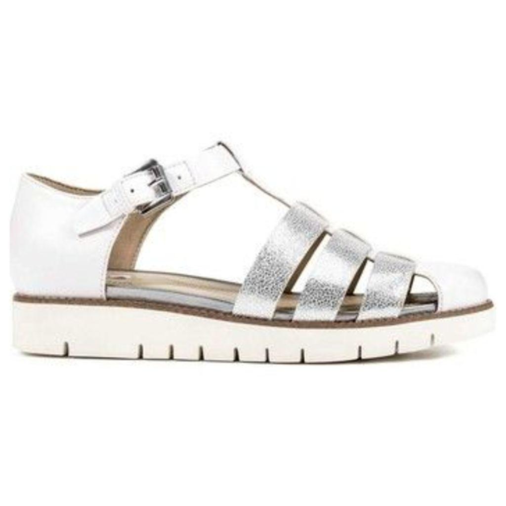 Geox  D721YD 0BCEW Sandals Women  women's Sandals in white