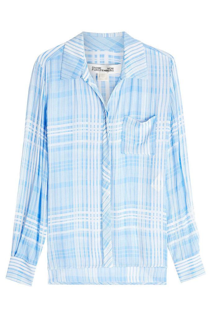 Diane von Furstenberg Printed Shirt
