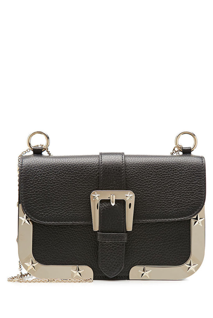 R.E.D. Valentino Leather Shoulder Bag