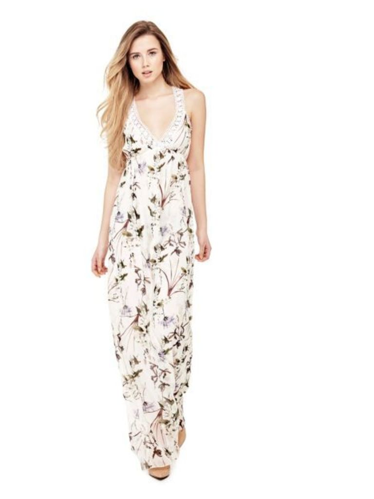 Guess Floral Long Dress