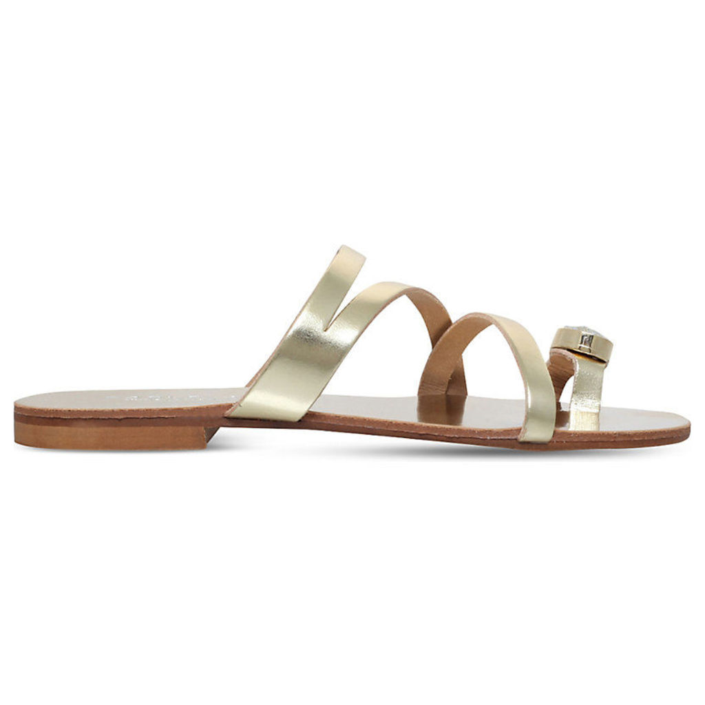 Klass metallic sandals