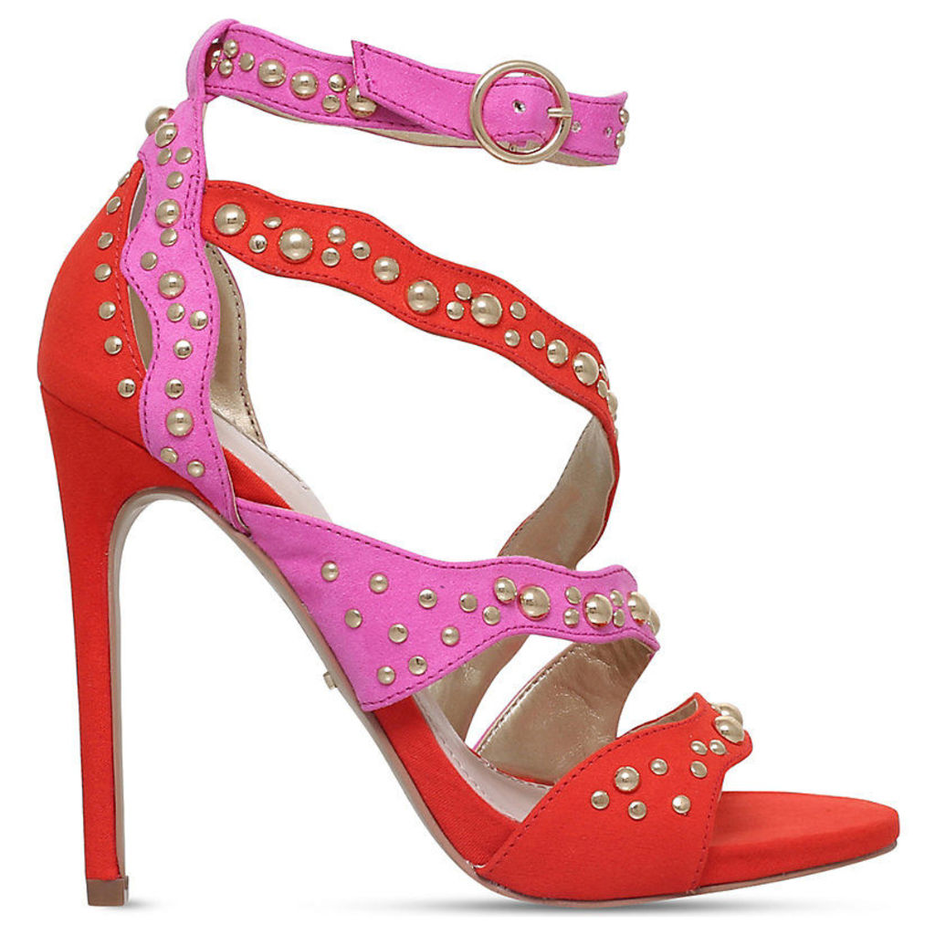 Gladly faux-suede embellished sandals