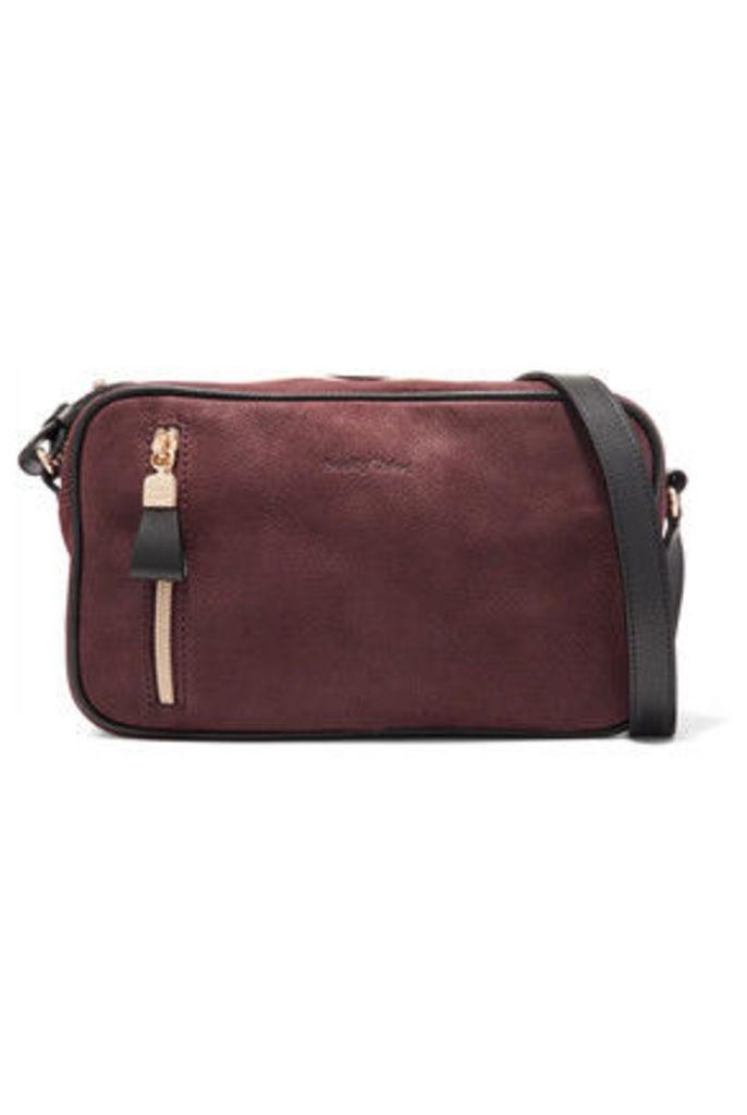 See by Chloé - Harriet Textured-leather Shoulder Bag - Burgundy