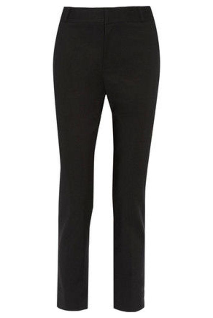 Raoul - Stretch Cotton-blend Slim-leg Pants - Black