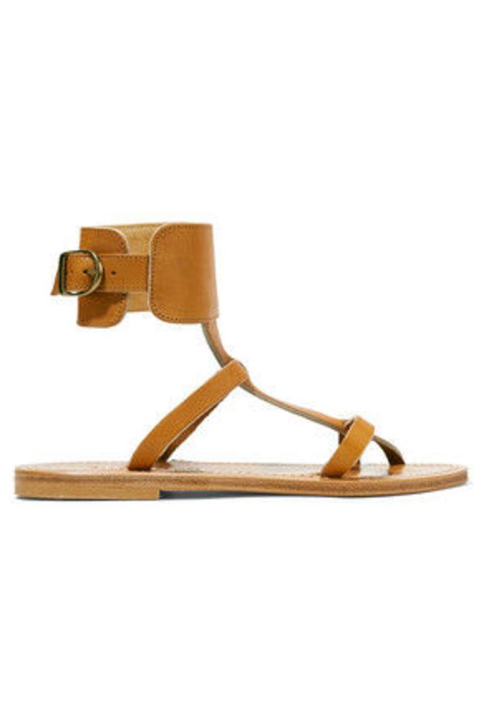 K Jacques St Tropez - Caravelle Leather Sandals - Tan