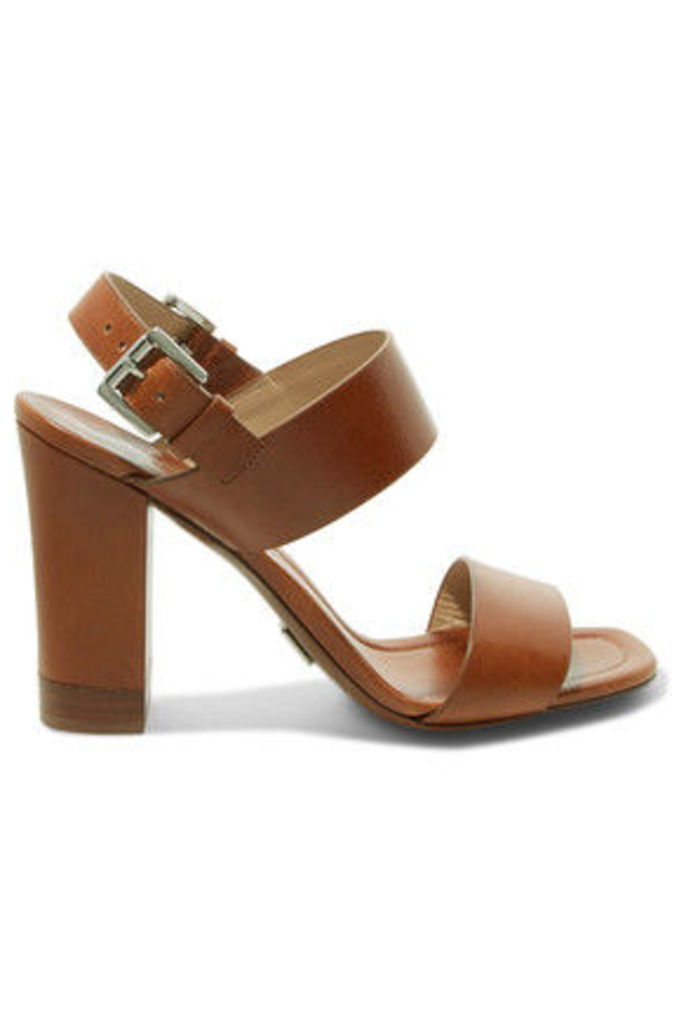 Michael Kors Collection - Thelma Leather Sandals - Tan