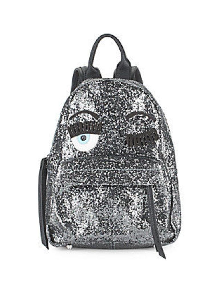 Flirt Embellished Mini Backpack