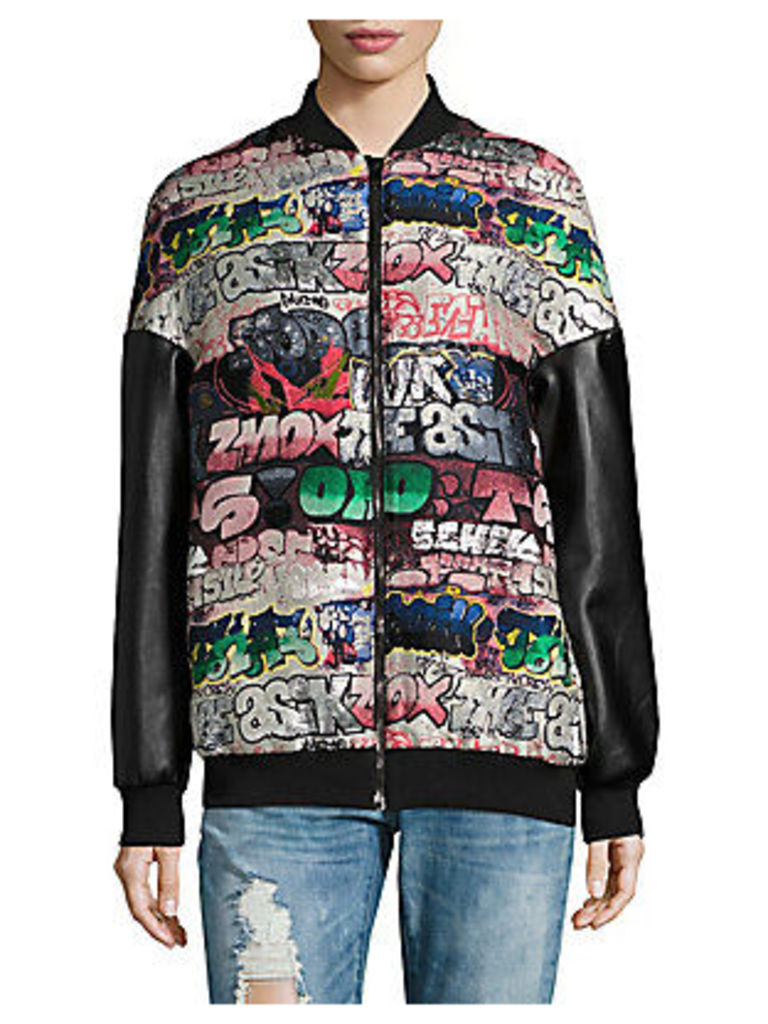 Graffiti Bomber Jacket