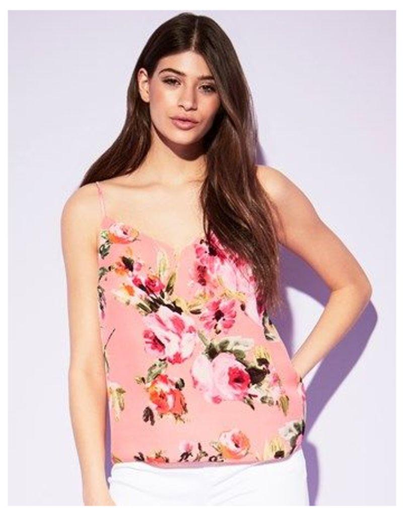 Lipsy Floral Printed Cami Top