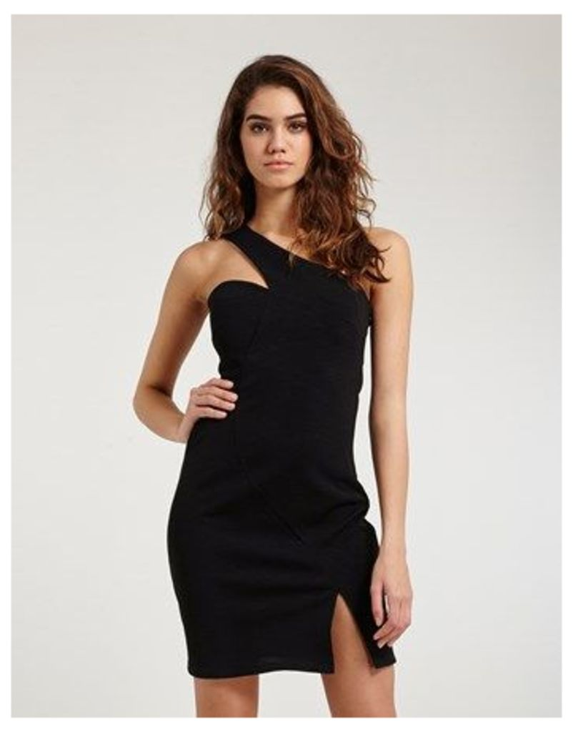 Morgan Asymmetric Mini Dress