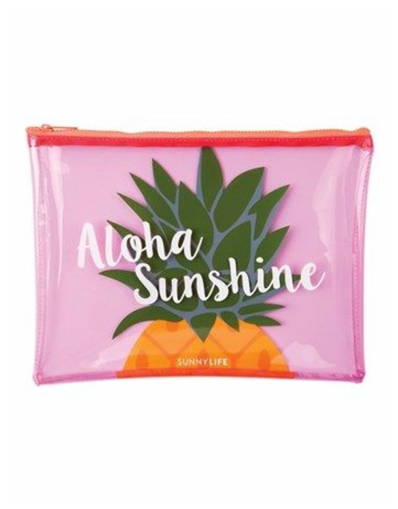 Sunnylife Clear Pineapple Cosmetic Bag