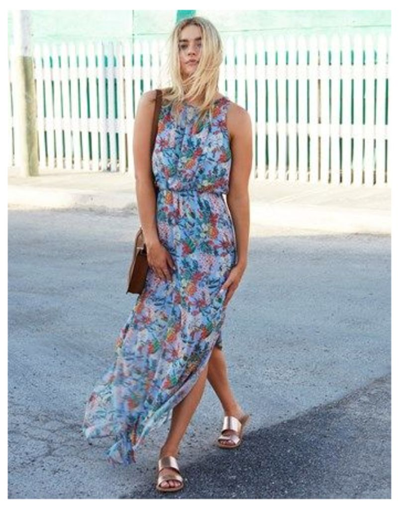 Mela London Garden Print Maxi Dress