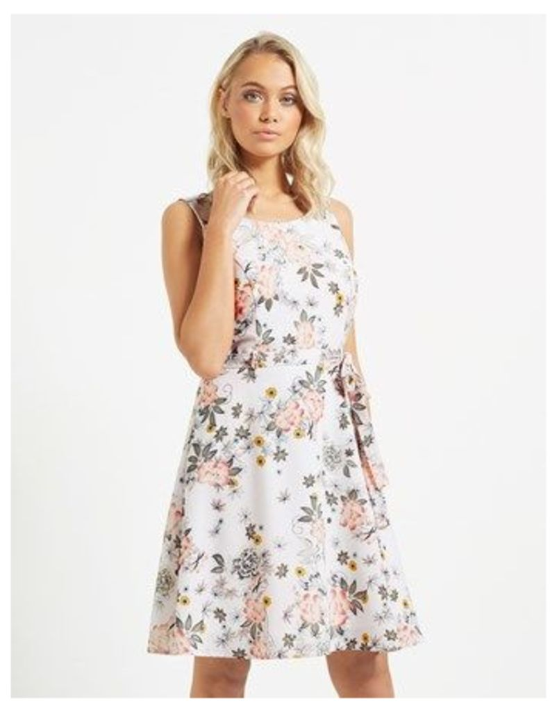 Mela London Floral Skater Dress