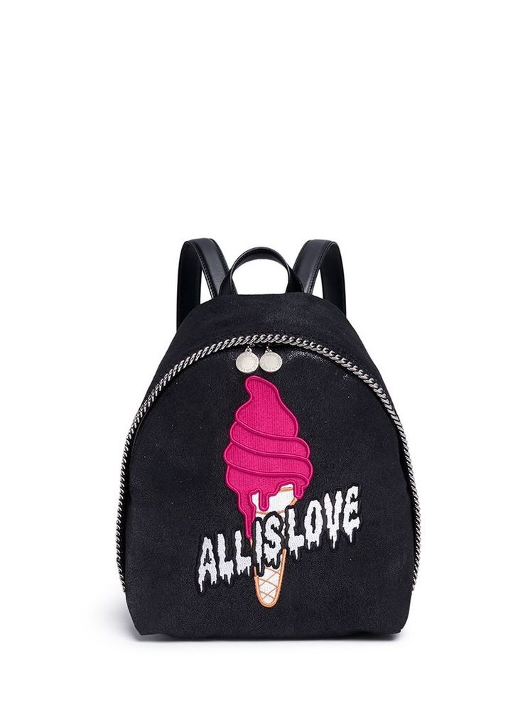 'Falabella Sport Surf' small ice cream backpack