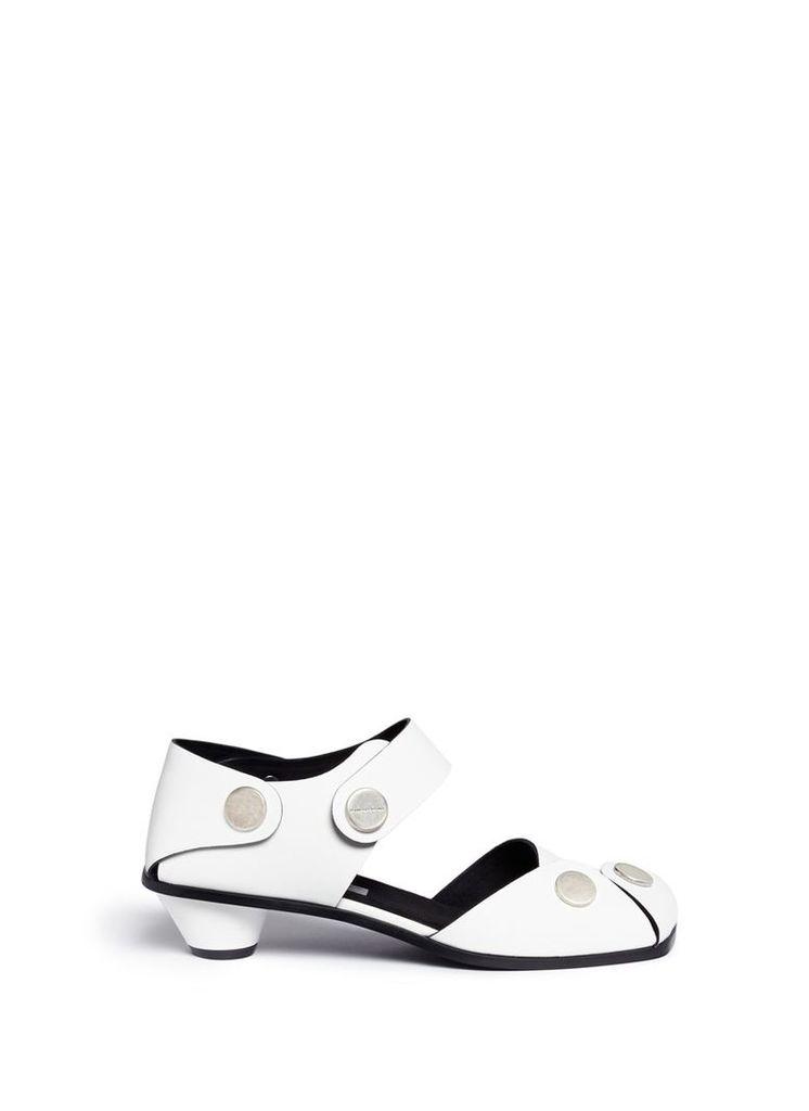 'Collection' cowper faux leather sandals