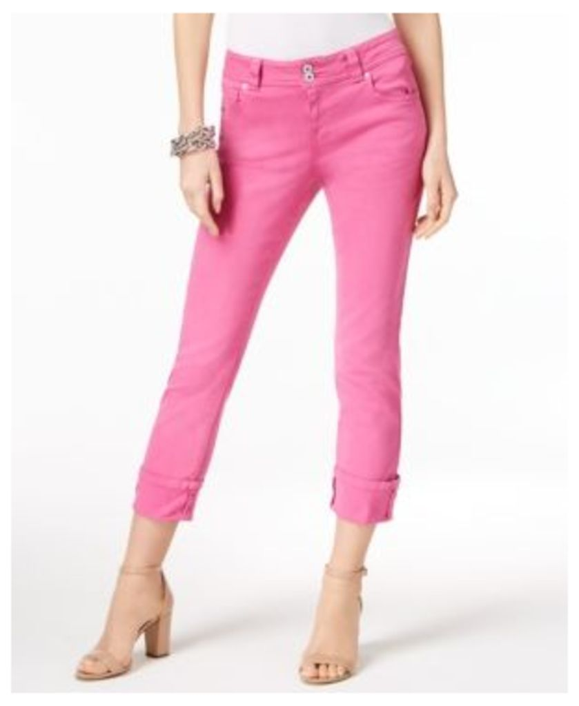 Inc International Concepts Cuffed Straight Jeans, Only at Macy's