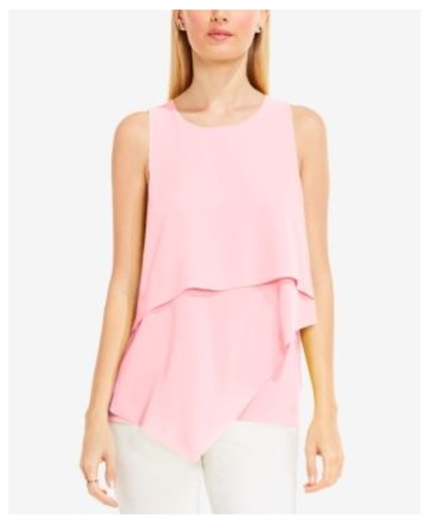 Vince Camuto Layered Asymmetrical Top