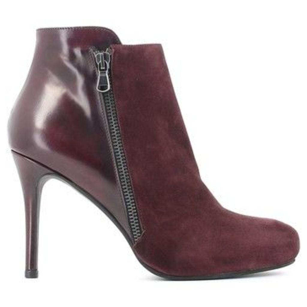 Grace Shoes  945 Ankle boots Women  women's Low Boots in Red