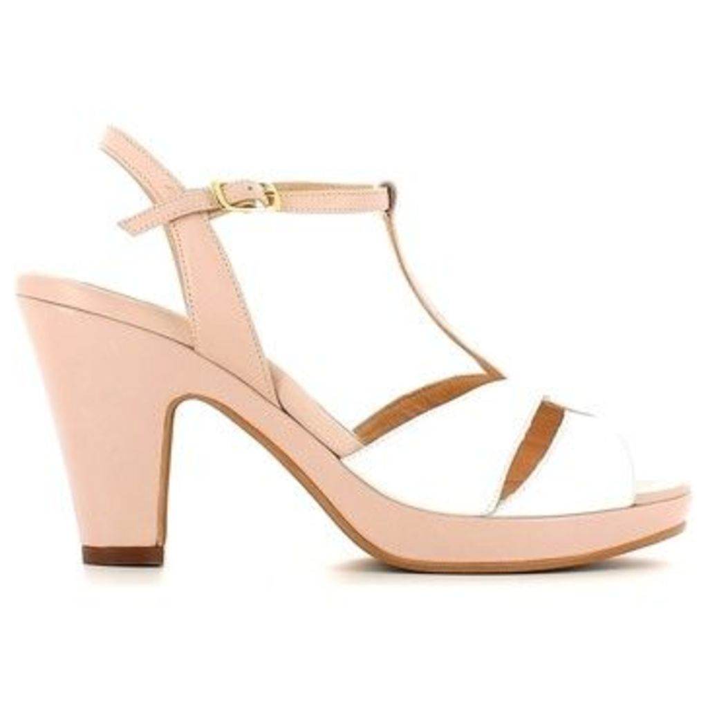 Grace Shoes  CR47 High heeled sandals Women  women's Sandals in White